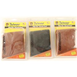 Lot of 3 Pachmyer Slip On Recoil Pads