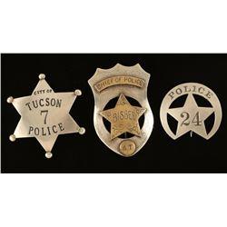 Lot of 3 Arizona Related Badges