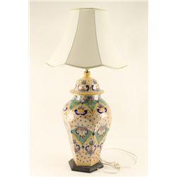Vintage Handpainted Lamp