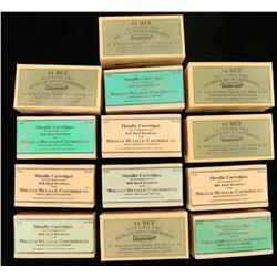 Lot of 13 Cartridge Boxes