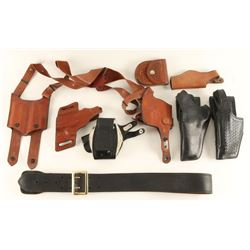 Lot of Gun Leather