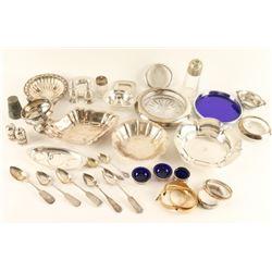 Bonanza Sterling & Silver Plate Lot