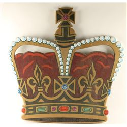 Wooden Crown from English Pub
