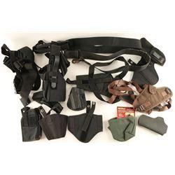 Lot of Nylon Holsters & Belts