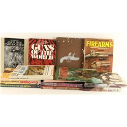 Large Lot of Gun Related Books