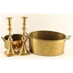 English Brass Lot