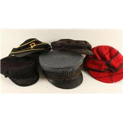 Lot of 6 Hats