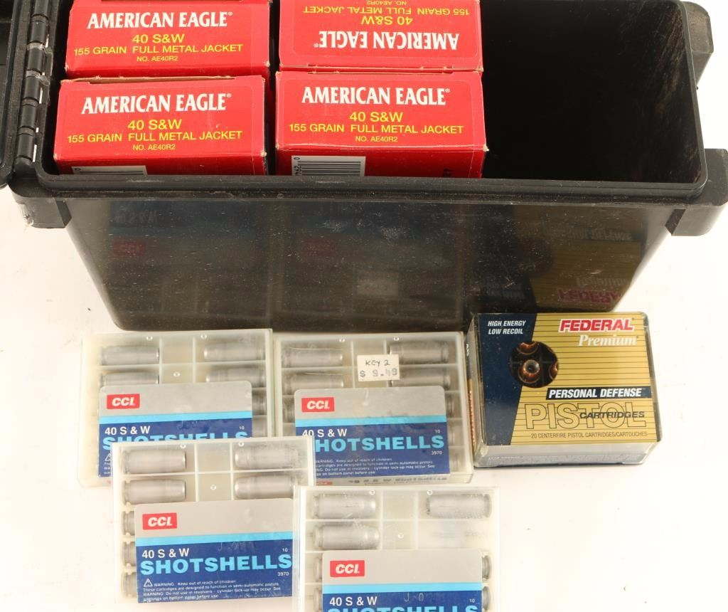 259 Rounds of  40 S&W Ammo