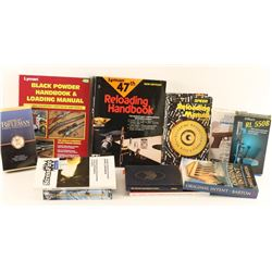 Lot of Gun Reloading Books