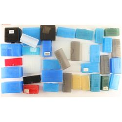 Lot of Plastic Cartridge Boxes