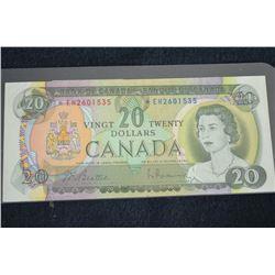 1969 $20 BC-50aA #*EH2601535, EF+