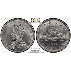 1935 S$1 PCGS Genuine - AU Details Cert# 33393338