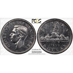 1950 S$1 Arnprior PCGS AU Details Cert# 33393339