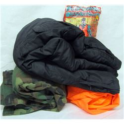 BOX LOT OUTDOOR CLOTHING.