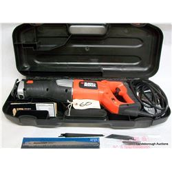 BLACK AND DECKER 8.5 AMP RECIPROCATING SAW