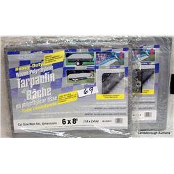 BOX LOT NEW TARPAULINS