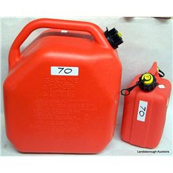 TWO NEW GAS CONTAINERS