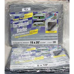 TARPS AND TENT