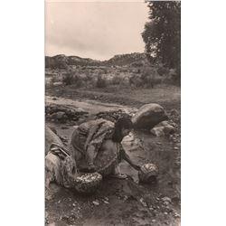 Silver Gelatin Photograph of Acoma Pueblo