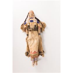 Cheyenne Beaded Doll, 23  tall