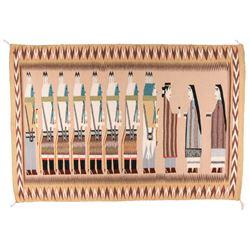 "Navajo Weaving, 5' x 3'5"""