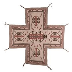 "Navajo Weaving, 3'6"" x 3'4"""