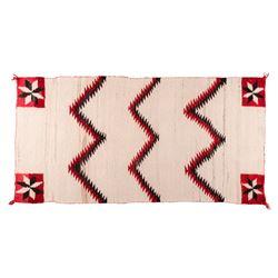 "Navajo Weaving, 4'11 ½"" x 2' 6 ½"