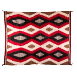 "Navajo Weaving, 4' 5 ½"" x 7'4"""