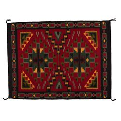 "Navajo Weaving, 3'11"" x 3'"