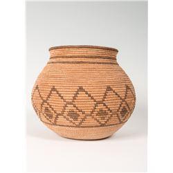 """Chemehuevi Coiled Basket, 5 ¾"""" x 7"""""""