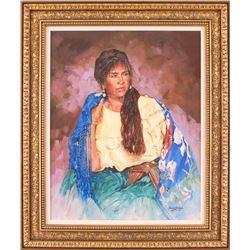 Shirley Arrants, oil on canvas