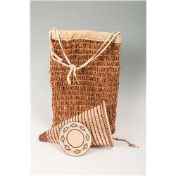 Group of Three Baskets by Everett Pikyavit