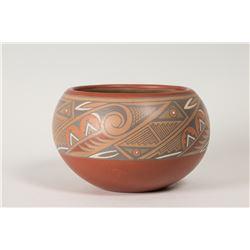 "Santa Clara Pueblo Pot by Margaret and Luther Gutierrez, 4"" x 7 ½"""
