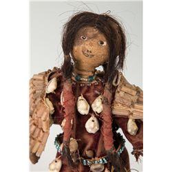 """Blackfeet Doll, 10"""" tall"""