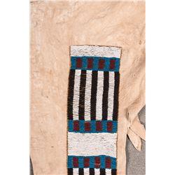 """Blackfeet Beaded Man's Leggings, 44"""" long"""