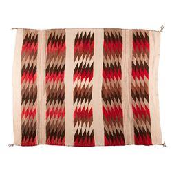 "Navajo Weaving, 4'9"" x 3'10"""