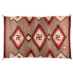 "Navajo Weaving, 6'3"" x 3'11"""