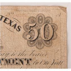 Texas $50 Bill