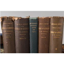 Set of 9 books
