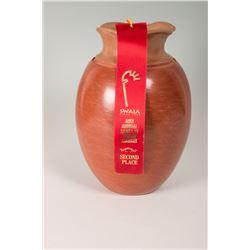 """Santa Clara Pueblo Jar by Sarena Ebelacker, 12"""" x 8"""""""