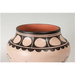 "Cochiti Pueblo Pot by Virgil Ortiz, 9 ¼"" x 11"""