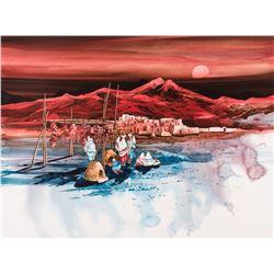 Michael Atkinson, acrylic on panel