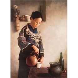 Jei-Wei Zhou, giclee print