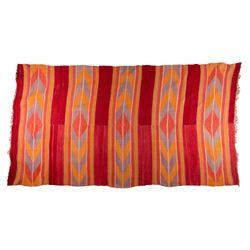 "Navajo Weaving, 7'3"" x 4'"
