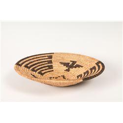 "Havasupai Coiled Basketry Tray, 2 ¾"" x 11 ¼"""