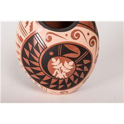Two Jemez Pueblo Polychrome Pots