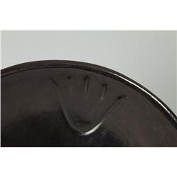 "Santa Clara Pueblo Plate by Christina Naranjo, 13 ½"" plate"
