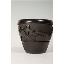 Two Santa Clara Pueblo Pots