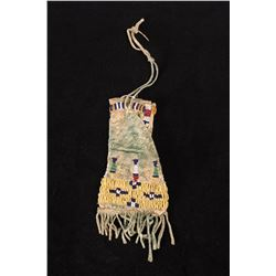 Northern Plains Cheyenne Beaded Paint Bag