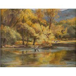Olive Vandruff, oil on canvas
